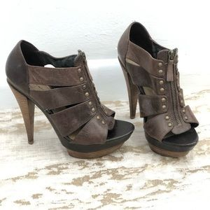 Jessica Simpson Leather Heels
